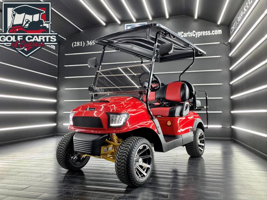 2021 Electric EV Titan EVO Red Rover