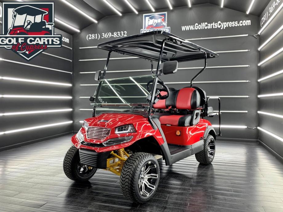 2021 Electric EV Titan EVO Red Spyder