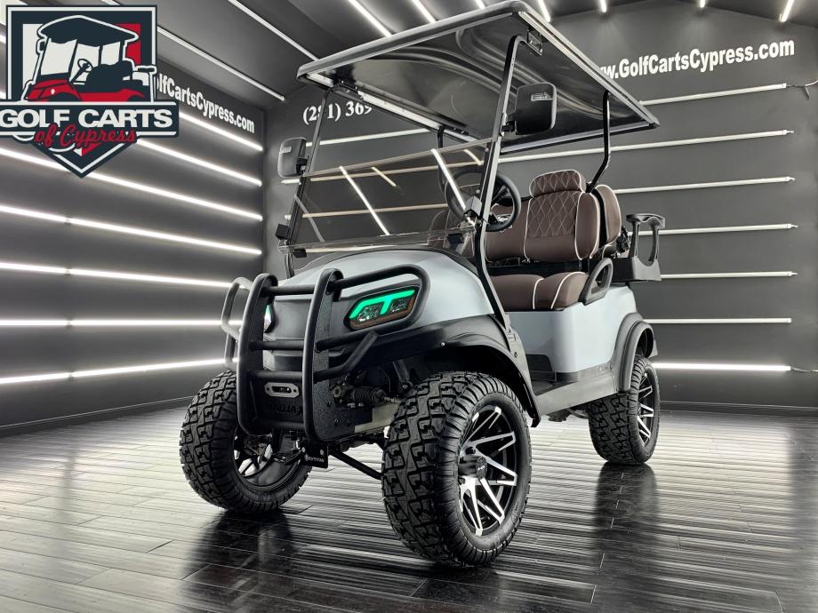 2019 Electric Club Car Tempo Kevlar Gray