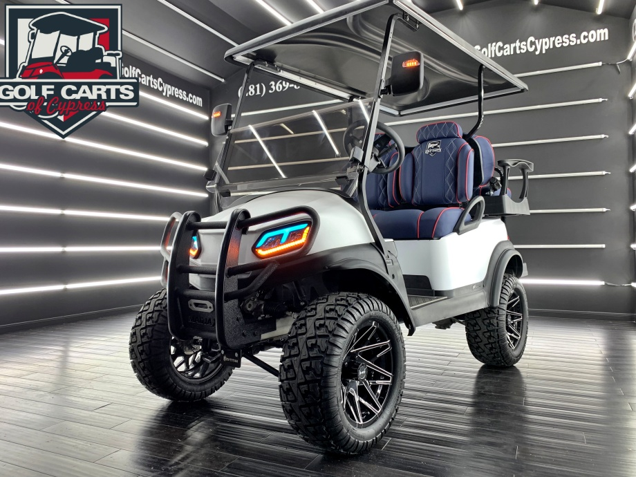 2019 Electric Club Car Tempo Kevlar White