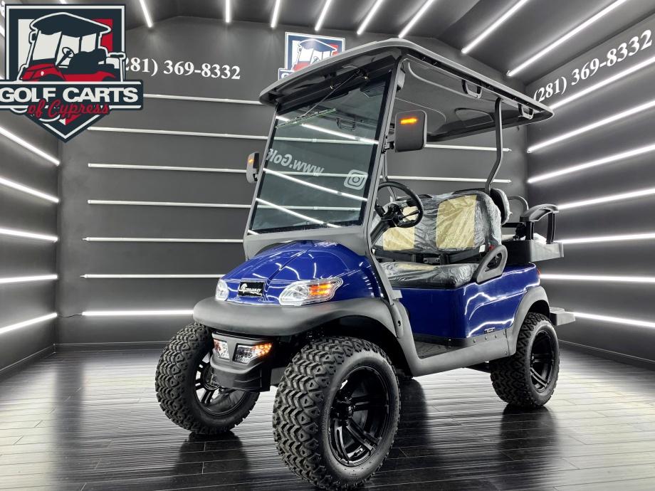 2021 Electric Trojan EV Blue