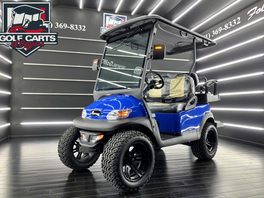 2021 Electric Trojan EV Light Blue